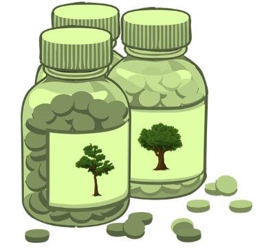 Pílulas da natureza